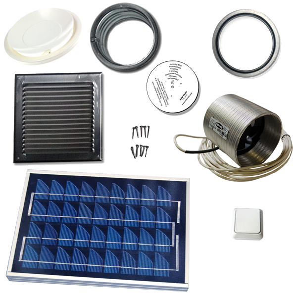 ventilation kit with 6W